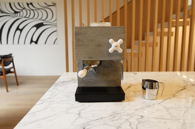 Anza Redefining Espresso In Concrete And Corian Indiegogo