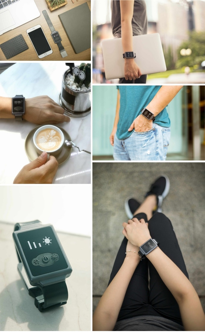 Aircon Watch The Worlds First Personal A C Watch Indiegogo