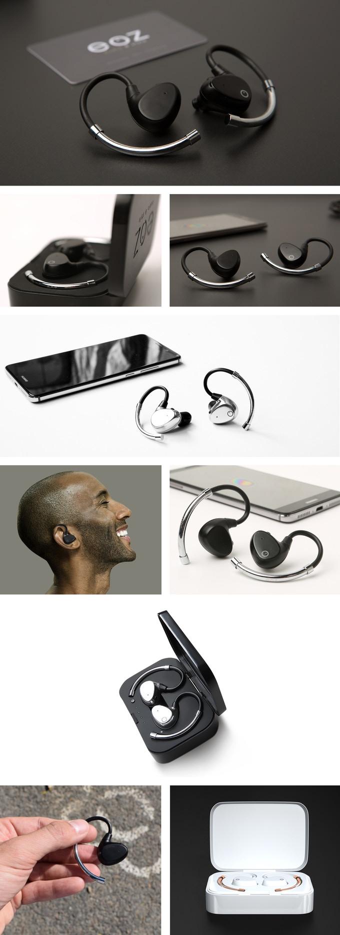 Eoz Air Worlds Most Advanced Wireless Earphones Indiegogo