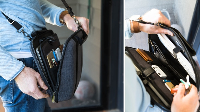 Easy visibility and access to all your gear, including your laptop for seamless airport security transitions