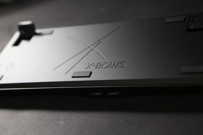 Клавиатура с алюминиевым корпусом