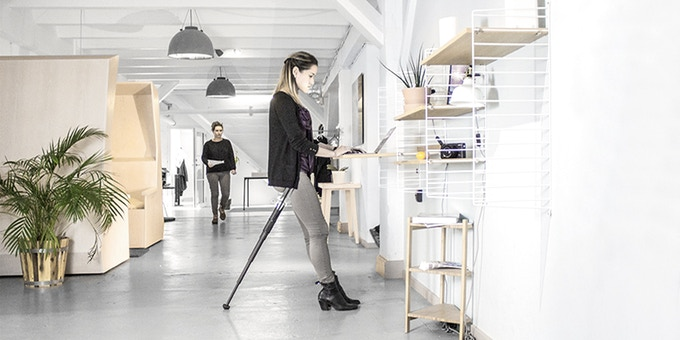Use Sitpack ZEN At The Office. Make Watching TV, Gaming And Any Outdoor  Activity Where You Have To Stand For A Long Time A Posture Improving,  Active Event.