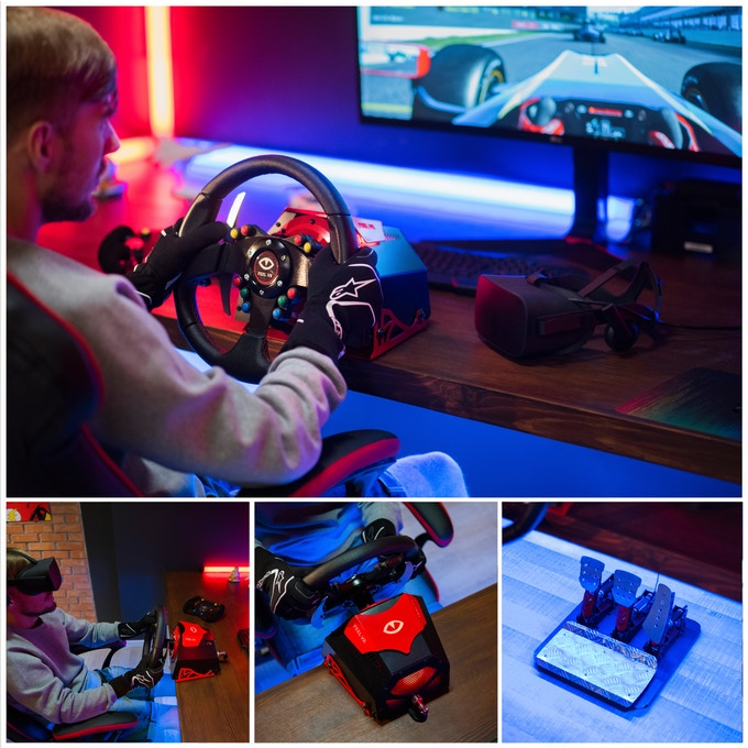 Feel VR: The Affordable Direct Drive Racing Wheel | Indiegogo