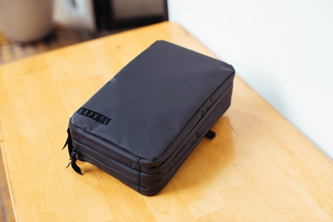 0425bcb57ee4 This bag will carry it all while staying compact. Pack in an electric  razor