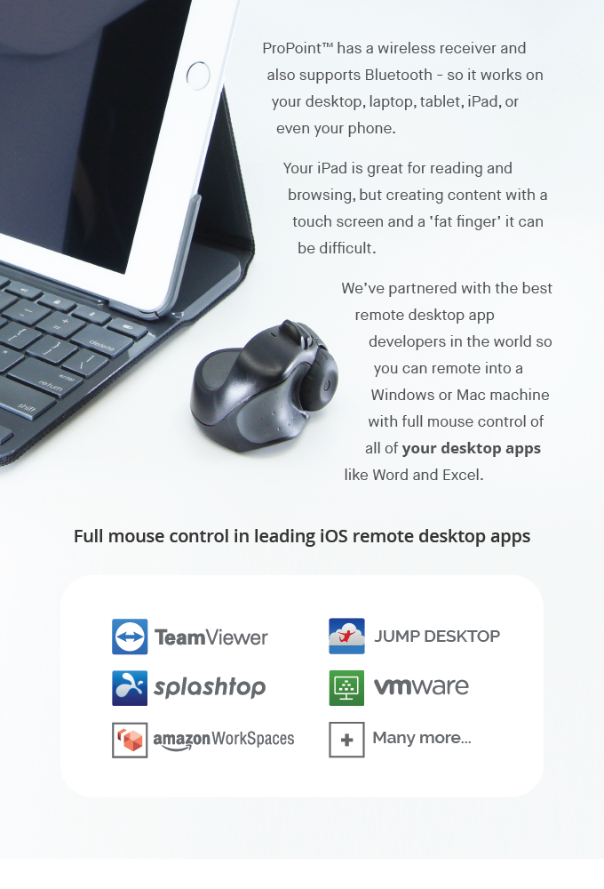 ProPoint Mouse & In-air Presenter  PC, Mac & iPad   Indiegogo