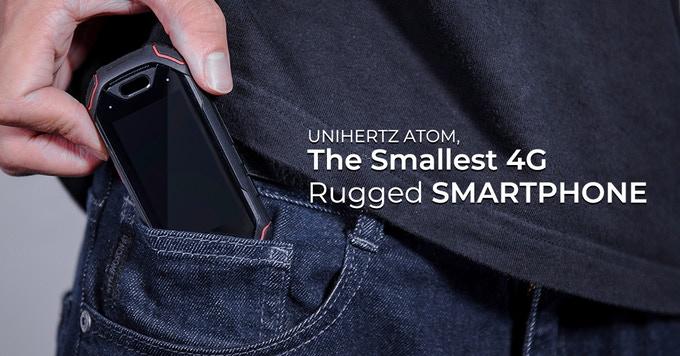 Atom The Smallest 4g Rugged Smartphone Indiegogo