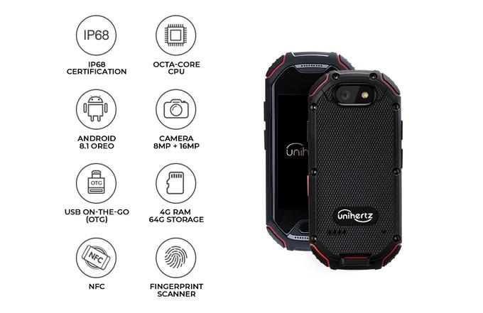 Atom, The Smallest 4G Rugged Smartphone | Indiegogo