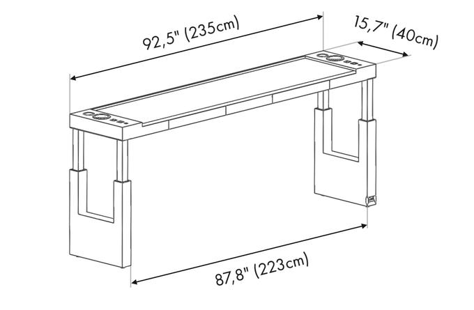 L size Bedchill dimensions