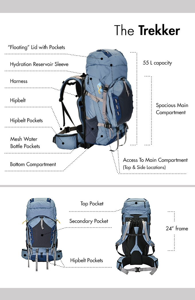 50164bc675 Permits you to suspend up to 50 lbs (more weight can be carried but the pack  must be locked) ...