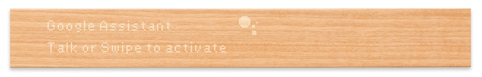 Natural Wood Smart Home Interface