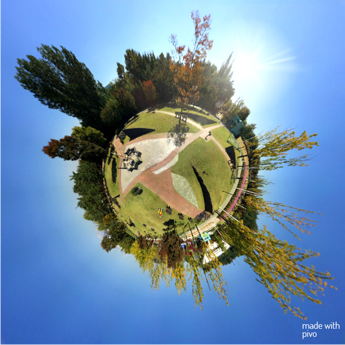 Tiny Planet: Take spherical photos that look like tiny globes taken with professional lenses