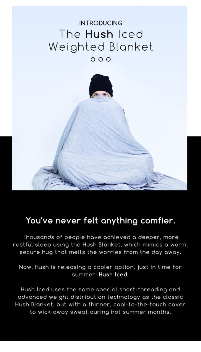 Hush Iced: The Cooling and Sleep-Inducing Blanket | Indiegogo