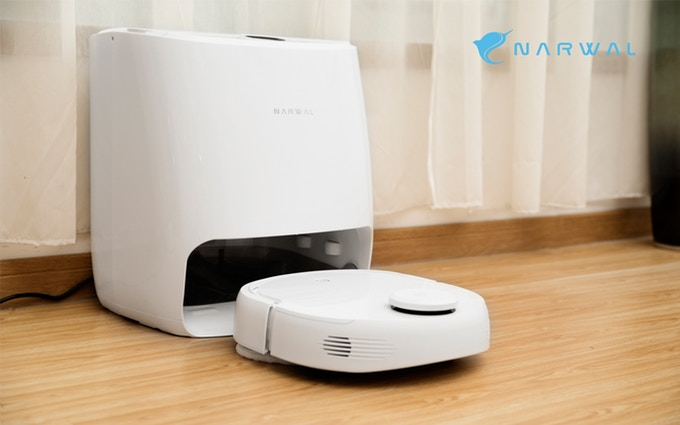 Narwal: The First Self-Cleaning Robot Mop & Vacuum | Indiegogo