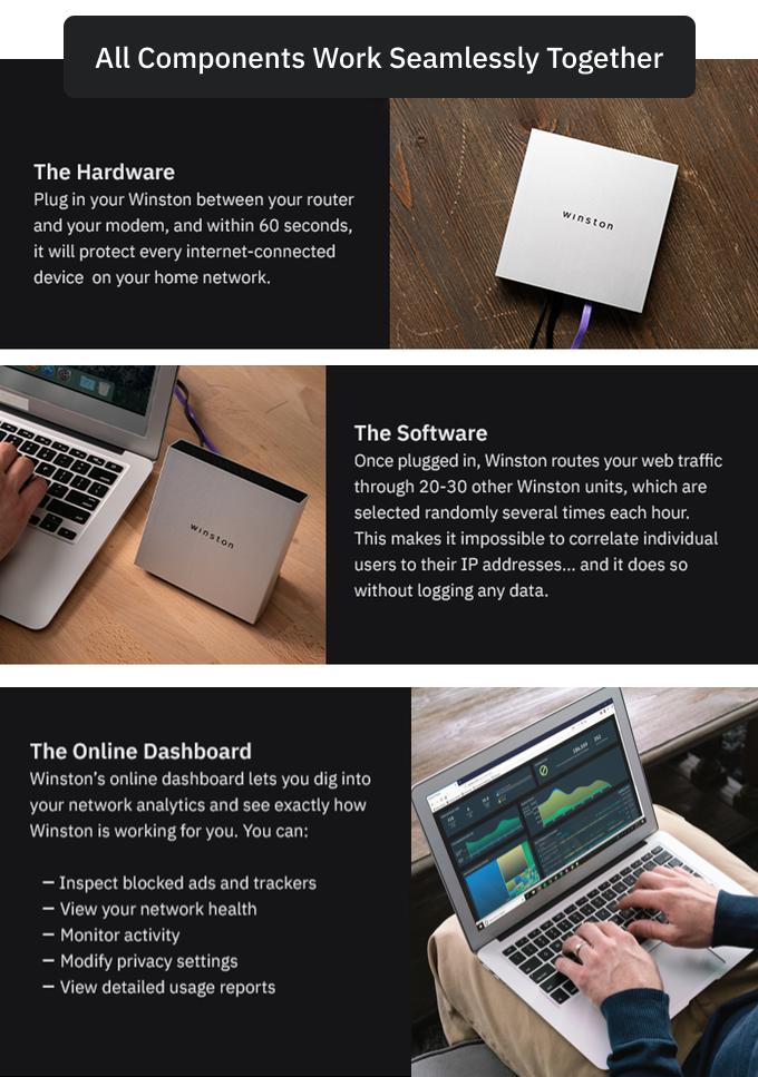 Winston: Take Back Control of Your Online Privacy | Indiegogo