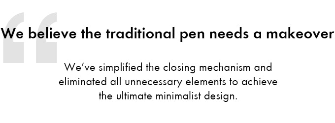 Arc Pen Magnetically Aligning Gel Pen Indiegogo